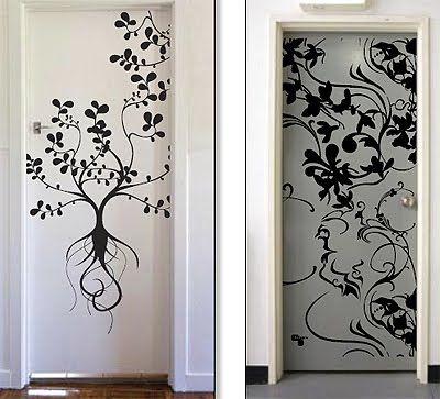 Door Stickers For Mum And Dads Door Wall Decals Home Decor Decals Wall