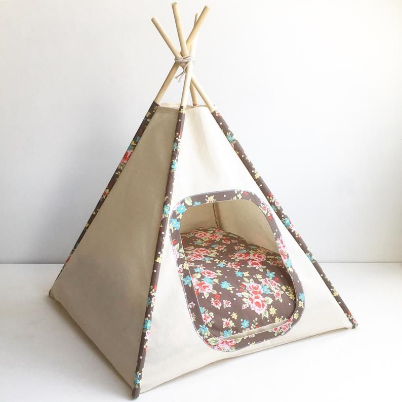 Photo of Teepee pattern for Pets, for cats and small dogs