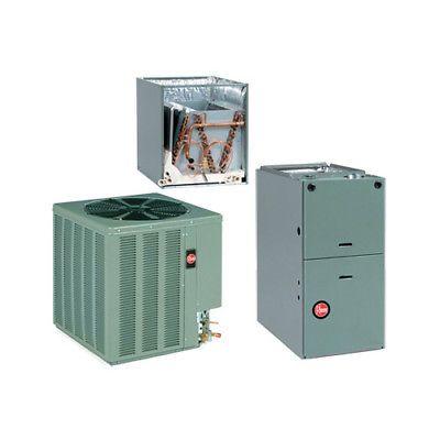 Rheem Complete Split System Gas Furnace 4 Ton 16 Seer 13 Eer Rgpt