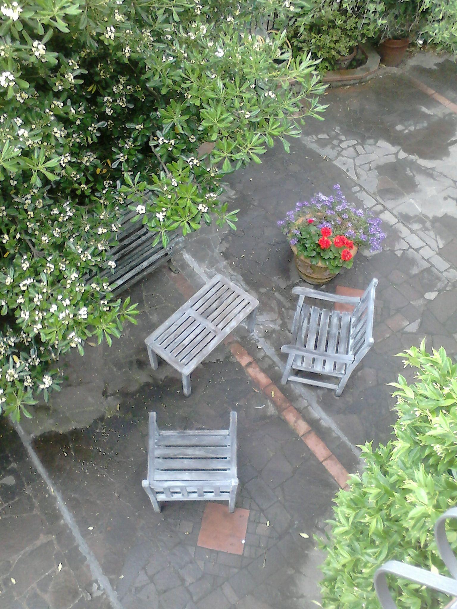 Un angolo del giardino il giardino for Angolo giardino