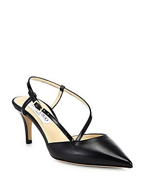 Jimmy Choo Mandy Leather Slingback Pumps...my first pair of Jimmy Choo!