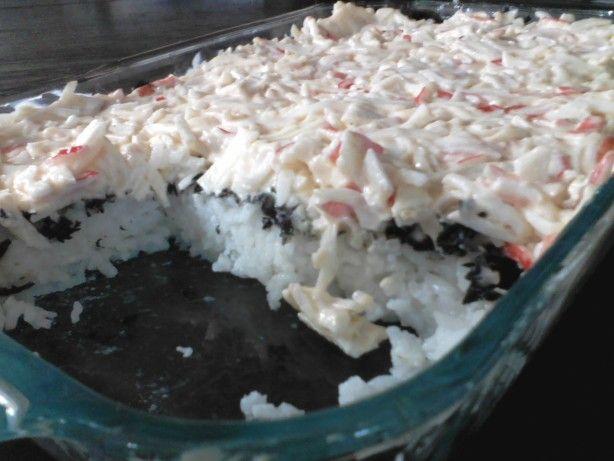 recipe: crab meat sushi filling [24]