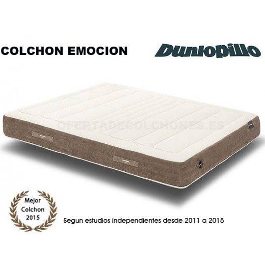 Colchones De Latex.Colchon Emocion Latex Talalay Dos Caras Dunlopillo Colchones De