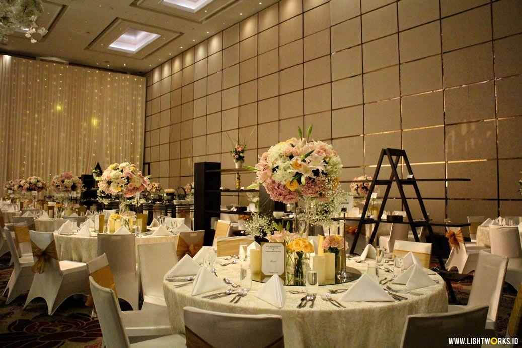 Wedding of David and Aurelia Venue at Fairmont Jakarta