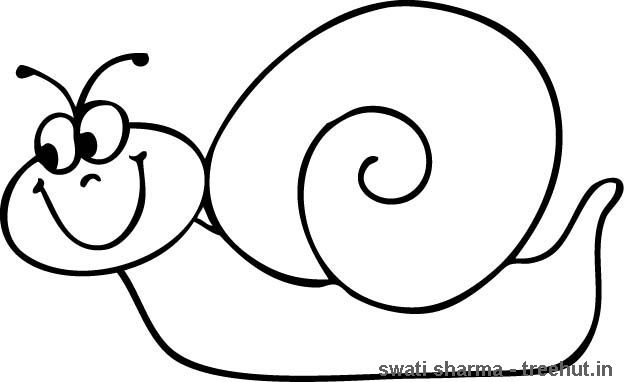 Snail. Make shell into raised spiral planter. Body