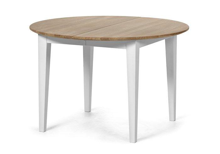 Vindö - Matbord inkl. ilägg, L 115 cm | Mio