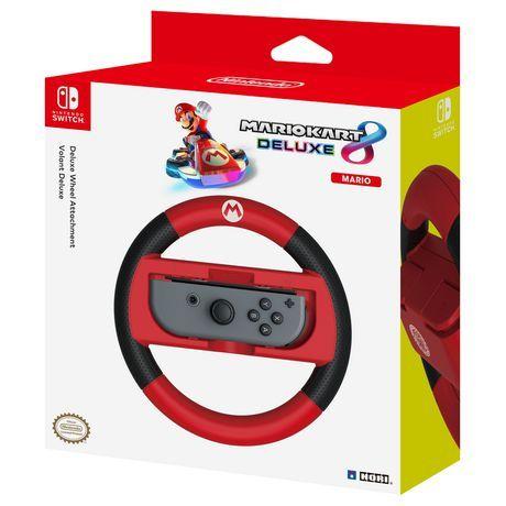 Nintendo Mario Kart 8 Deluxe Wheel Nintendo Switch Red Black Mario Kart 8 Mario Kart Mario Switch