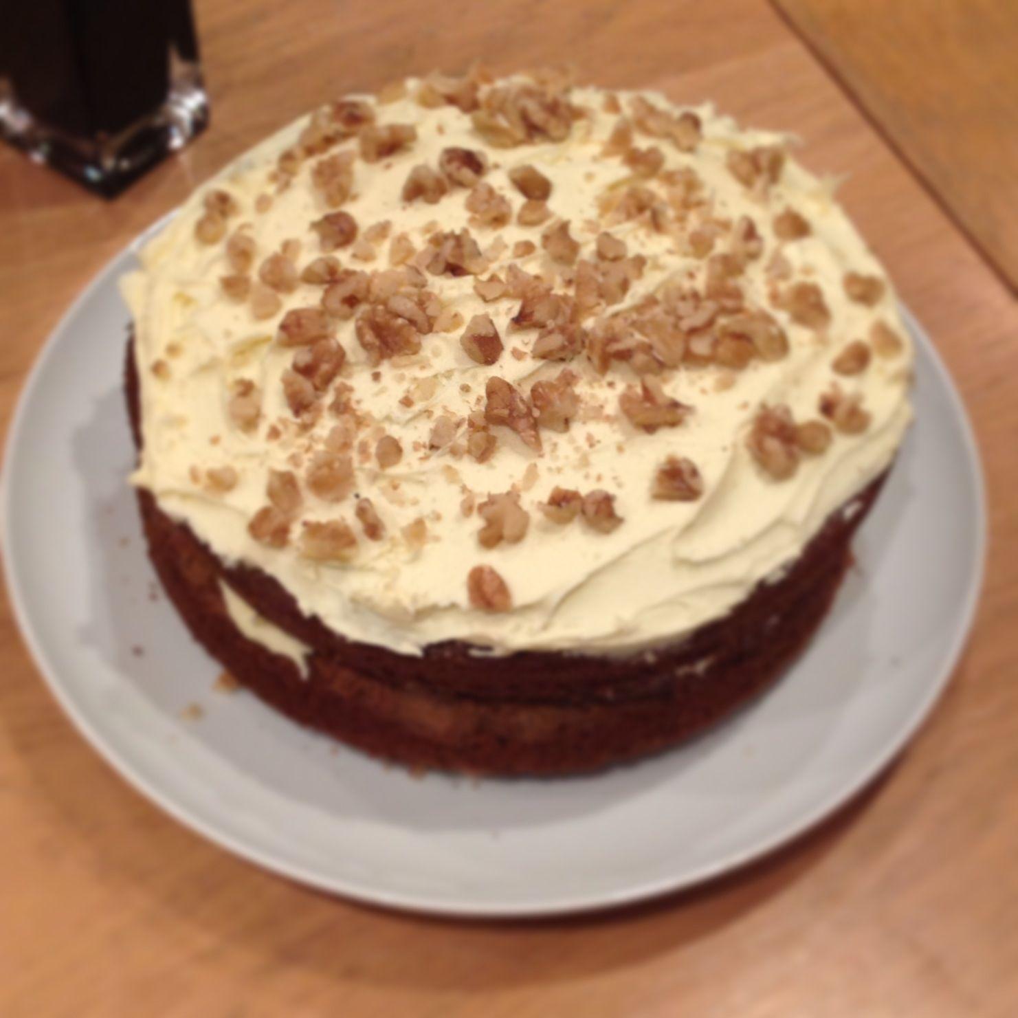 Carrot Cake using The Hummingbird Bakery recipe! Highly
