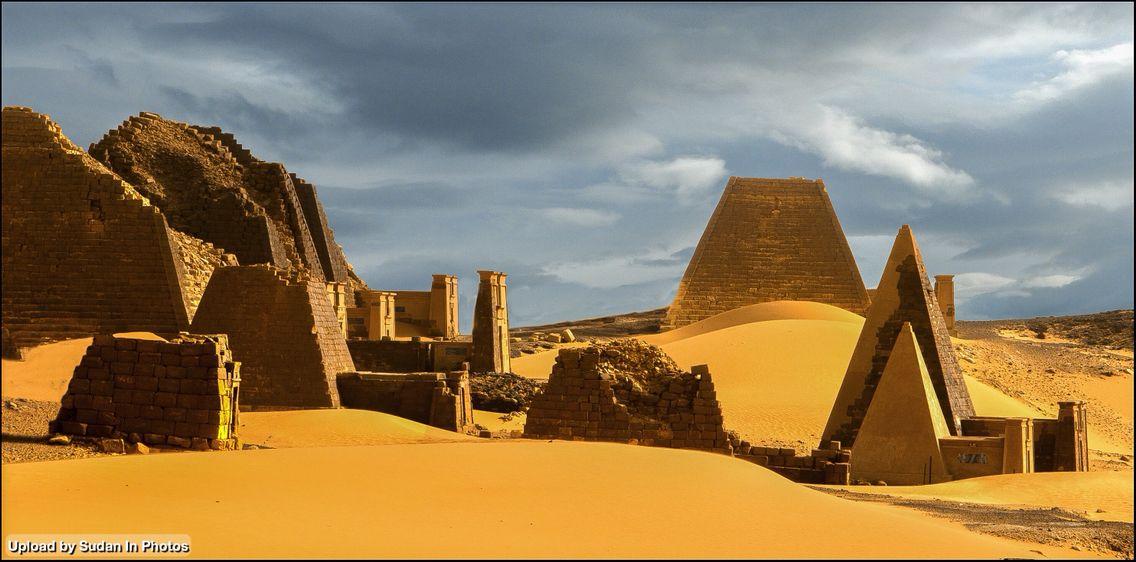 Sudan Antiquities Al Bajrawia Pyramids Near Meroe أثار السودان أهرام البجراوية بالقرب من مروي Sudan Bajrawia Antiquities Ancient Ruins Pyramids Egypt