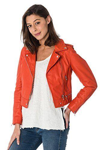 Manteaux 549 Fun Blouson Oakwood Taille Orange Yoko Xl f80xqxw1 90a772de3e58