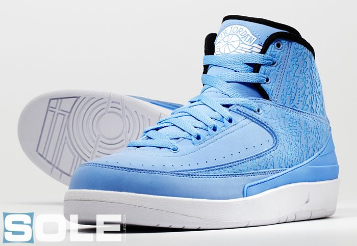 57537dca778c4a ... Air Jordan 2 Pantone 284 Sample (2009)  Unreleased ...