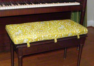 Custom Piano Bench Cushion Deluxe Piano Bench Bench Cushions Cushions