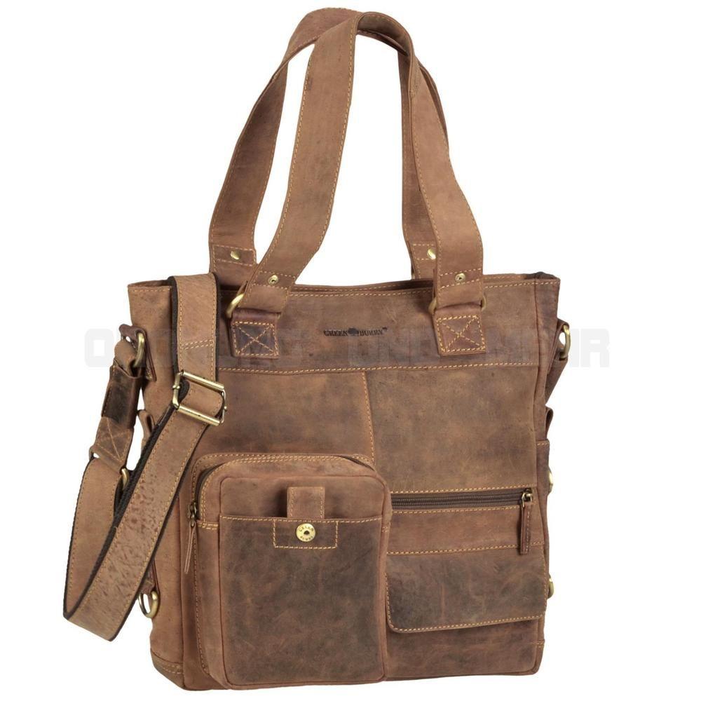 9193c8195bdd21 Greenburry Tasche VINTAGE Leder braun Damen Damentasche NEU SALE ...