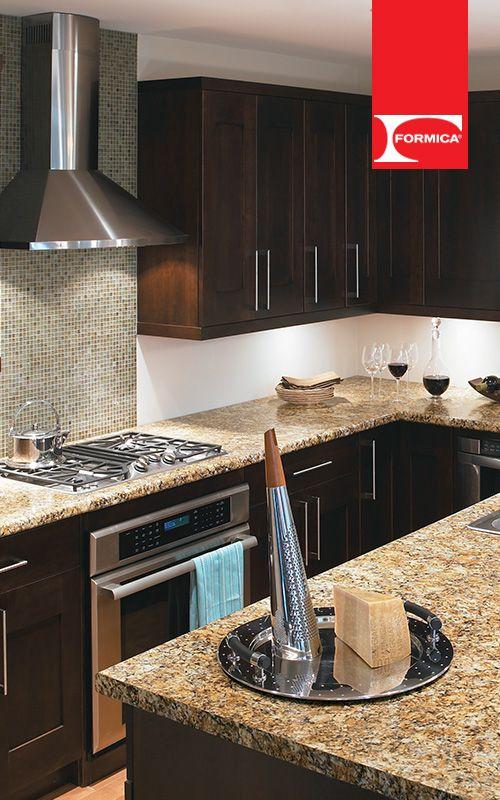 Una cocina elegante y bella es una cocina formica for Cocinas espectaculares fotos