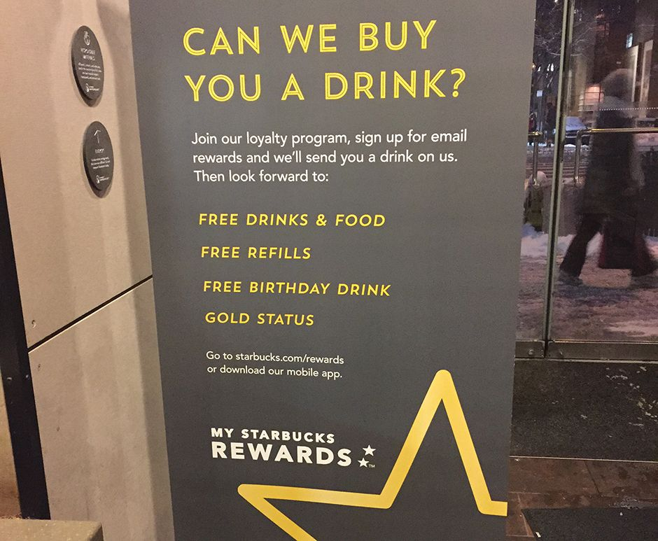 Image result for starbucks membership ad Birthday drinks