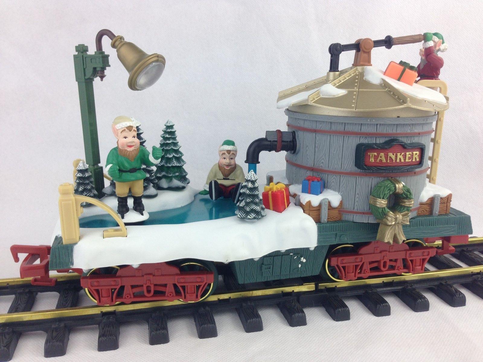 Wonderful Holiday Express #Animated Christmas Tree #Train Set G #Scale