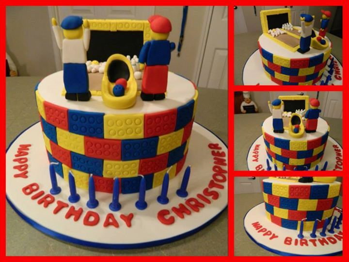 Lego Bowling Cake | Kids Parties | Pinterest | Birthdays