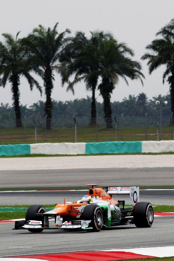 Paul di Resta, Force India, Sepang, 2012  http://www.annabelchaffer.com/