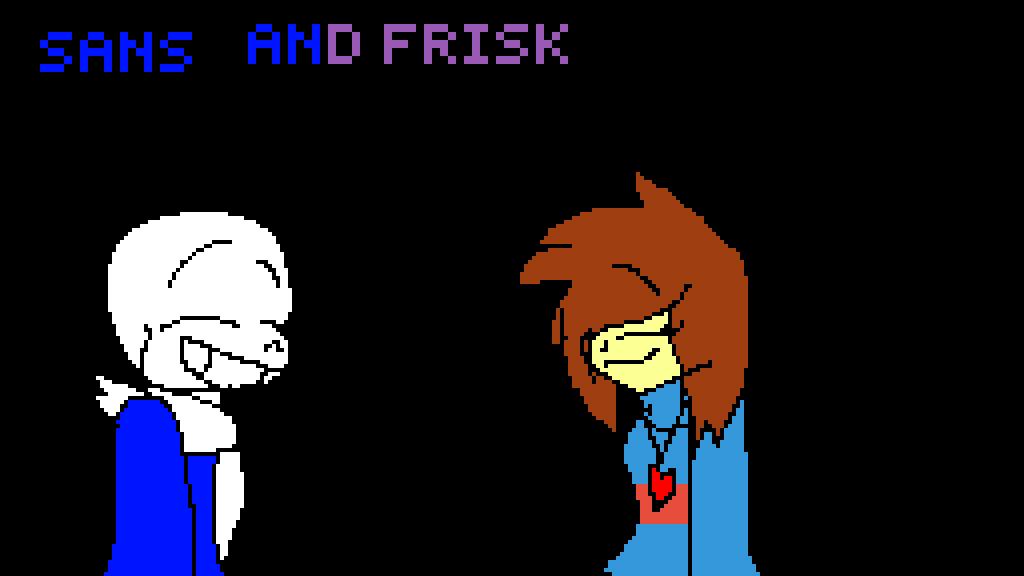 sans and frisk