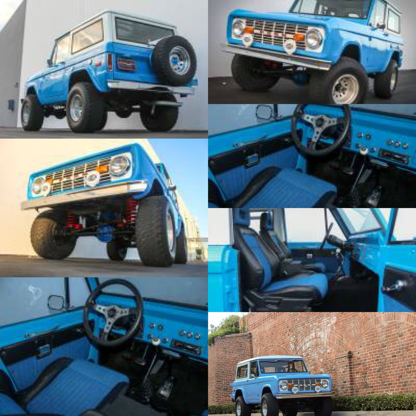 For sale is a 1970 Ford Bronco, California truck, recently