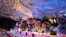 Majestic wedding decoration in ballroom this is amazing head over majestic wedding decoration in ballroom this is amazing head over to sion dcor where junglespirit Images