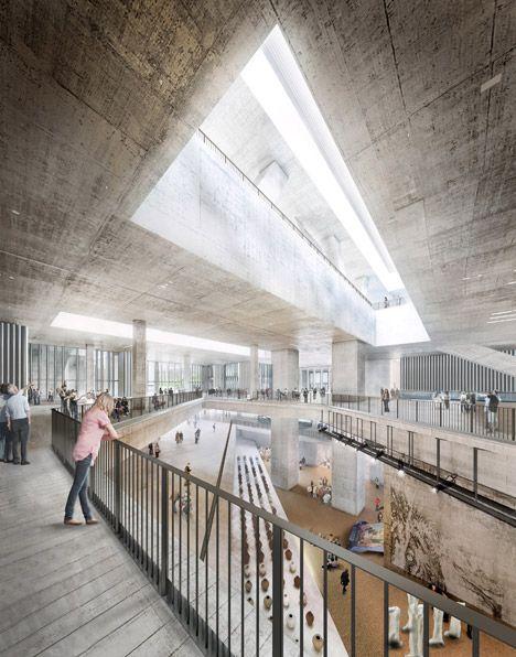 Herzog & de Meuron unveils updated design for Hong Kong M+ museum.