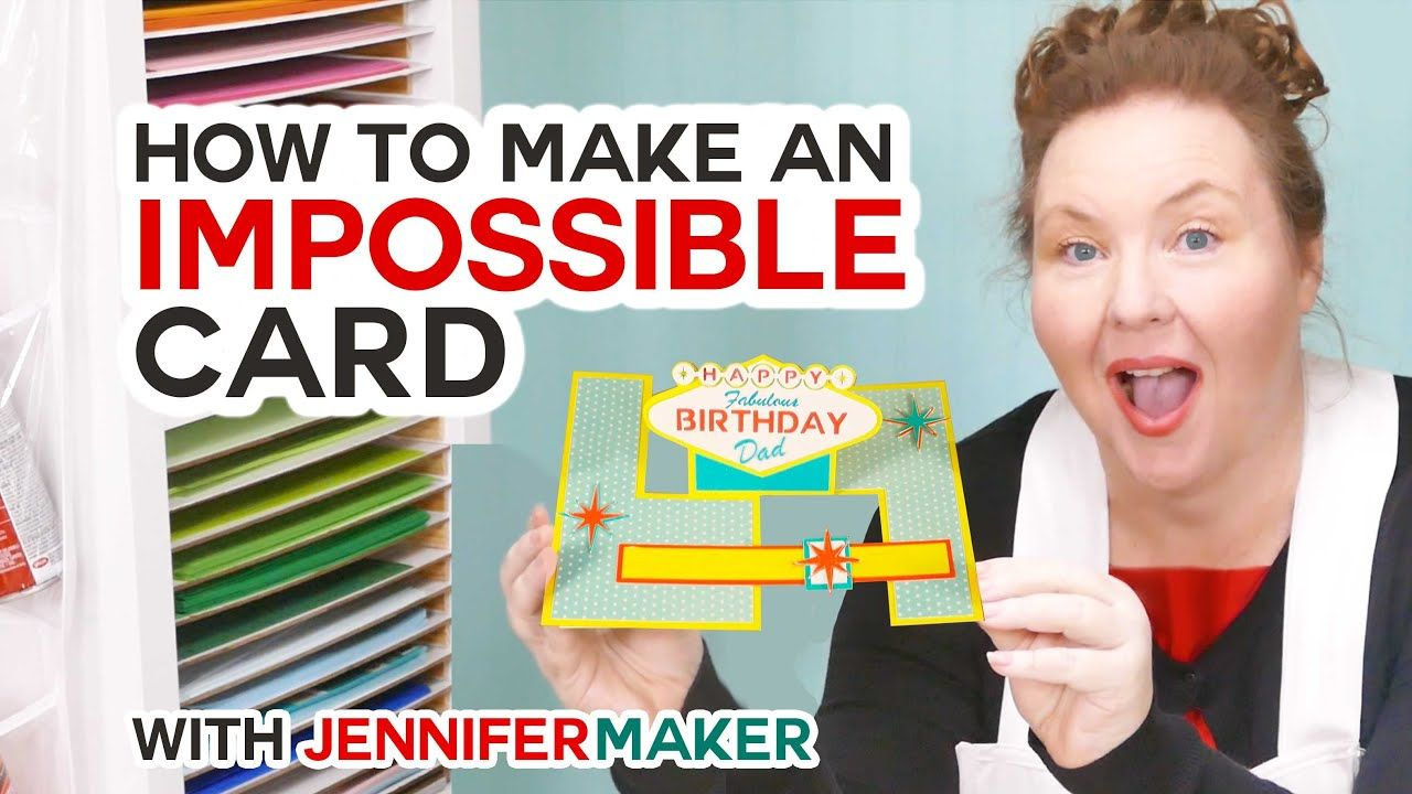 Impossible Card Template & Tutorial Pop up card