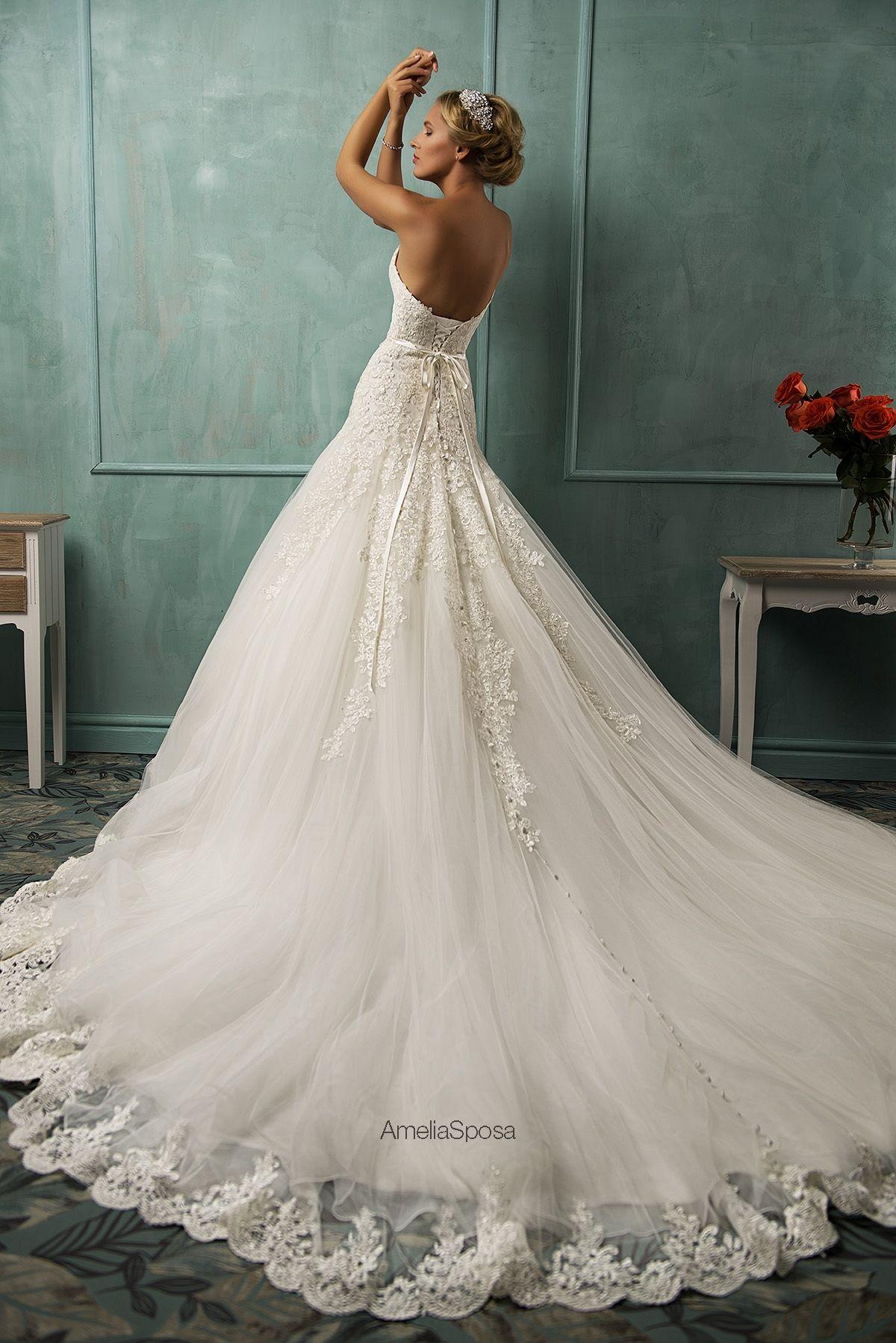 Wedding dress Arabella | AmeliaSposa | Pinterest | Hochzeitskleider ...
