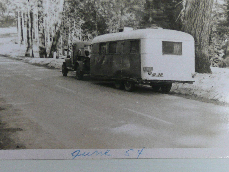 1940s Military Pickup And 1930s Travel Trailer Vintage TrailersVintage CampersVintage