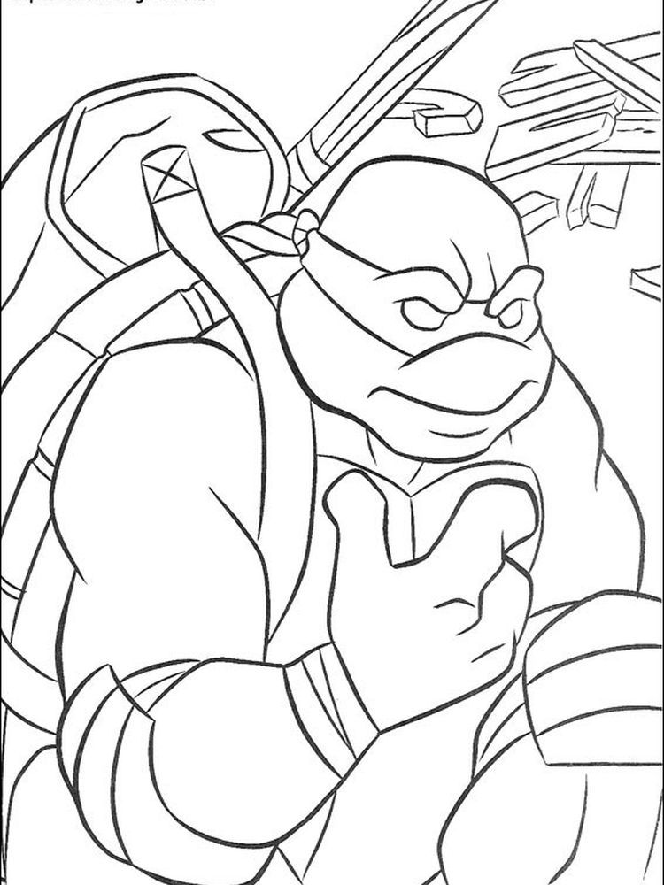 Teenage Mutant Ninja Turtles Coloring Pages Donatello The Following Is Our Tmnt Color Turtle Coloring Pages Ninja Turtle Coloring Pages Cartoon Coloring Pages
