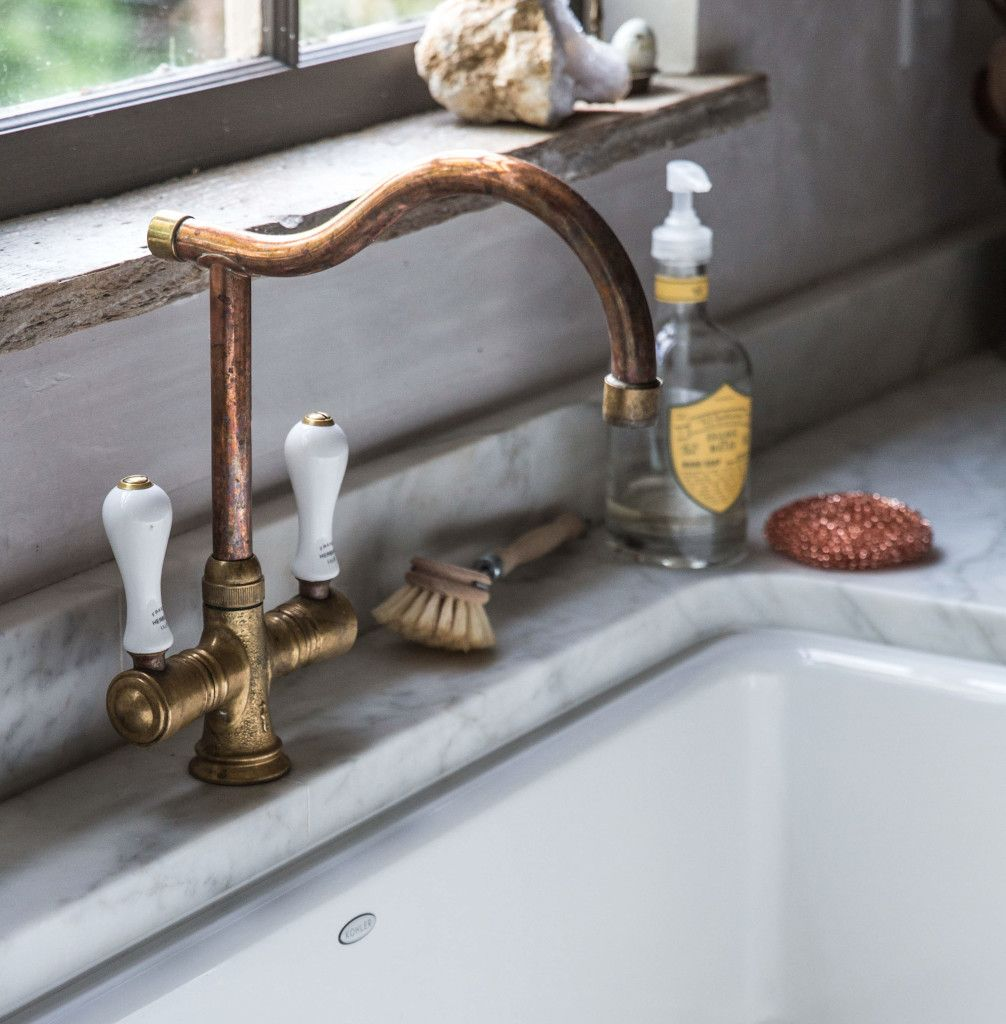 Inside Local Milk Blogger Beth Kirby S Insanely Beautiful Kitchen Vintage Kitchen Faucet Beautiful Kitchens Vintage Kitchen Decor