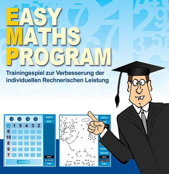 Online Mathe üben: Easy Maths Program   Easy math, Math and Learn ...