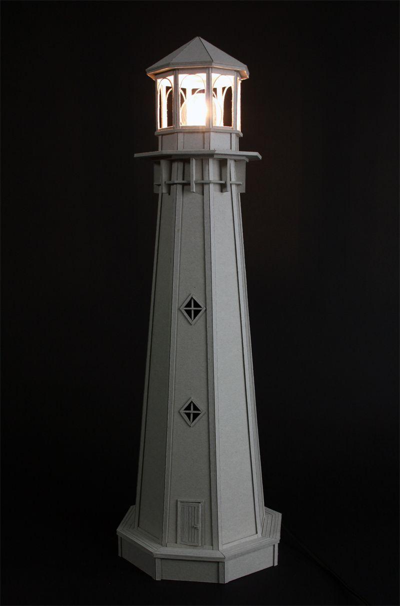 Cardboard Lighthouse Lamp For Sale Etsy Http Etsy Me