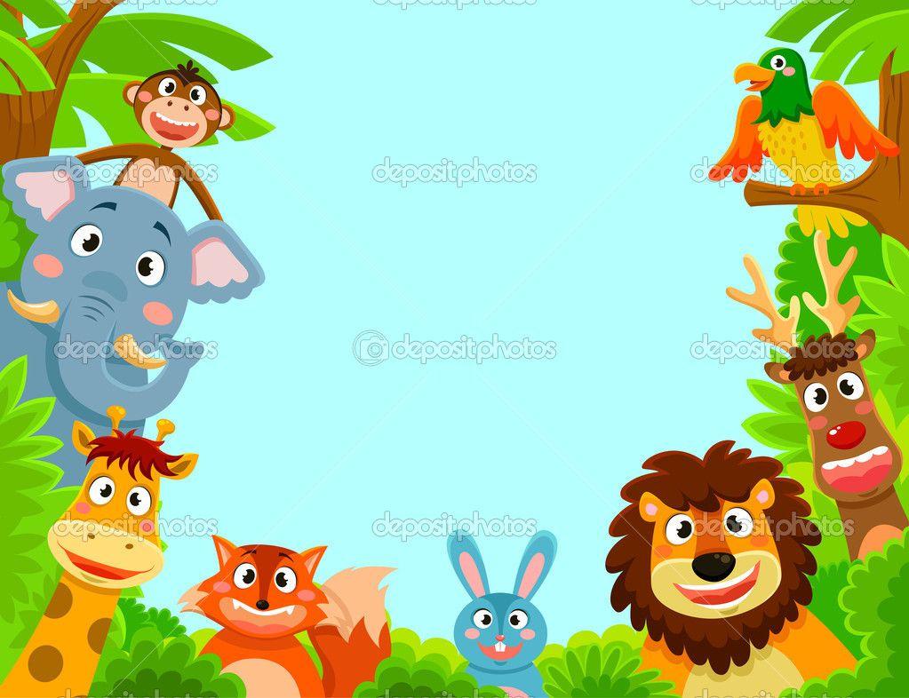 marcos para foto animales de la selva - Buscar con Google | cumple ...