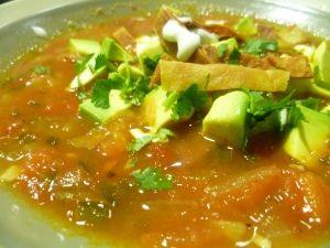 aztec soup, sooo good !!