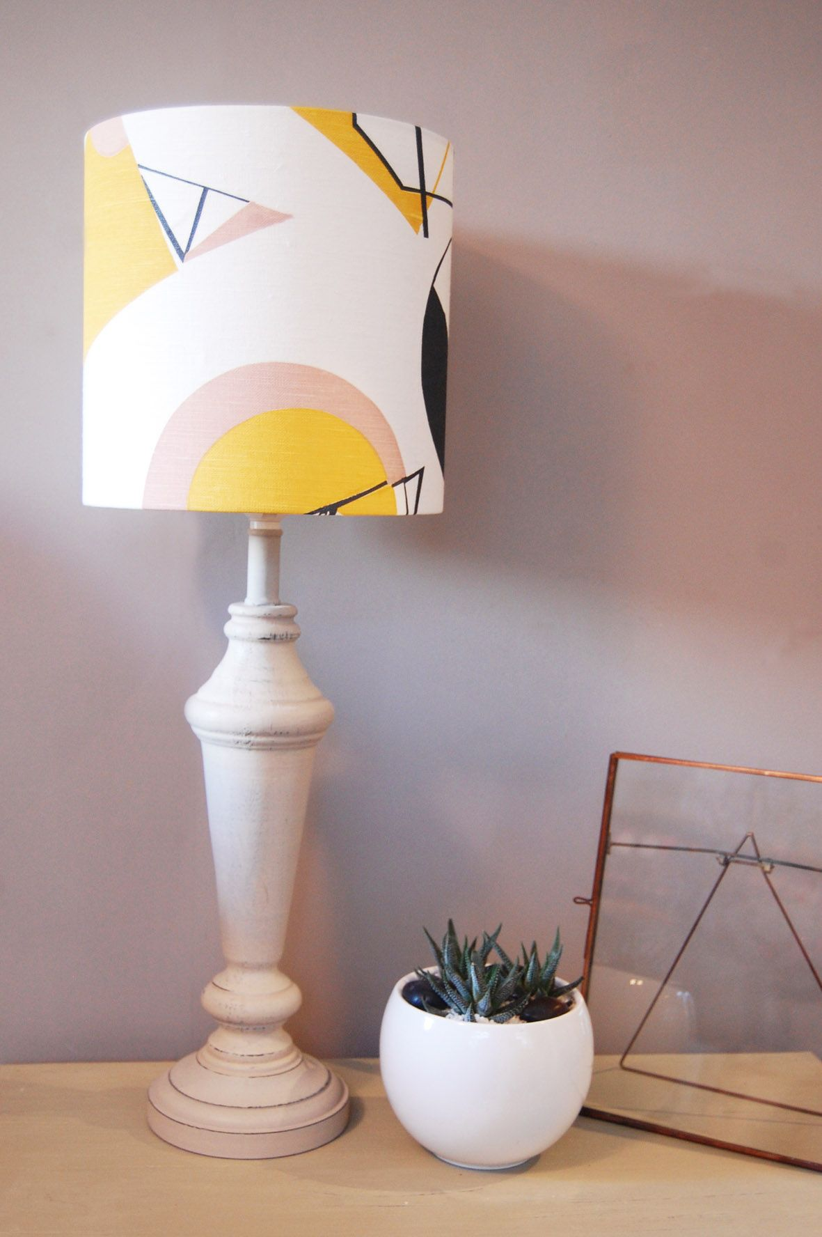 Geo Lampshade Lamp Shades Homewares Styling Floor Standing Lamps