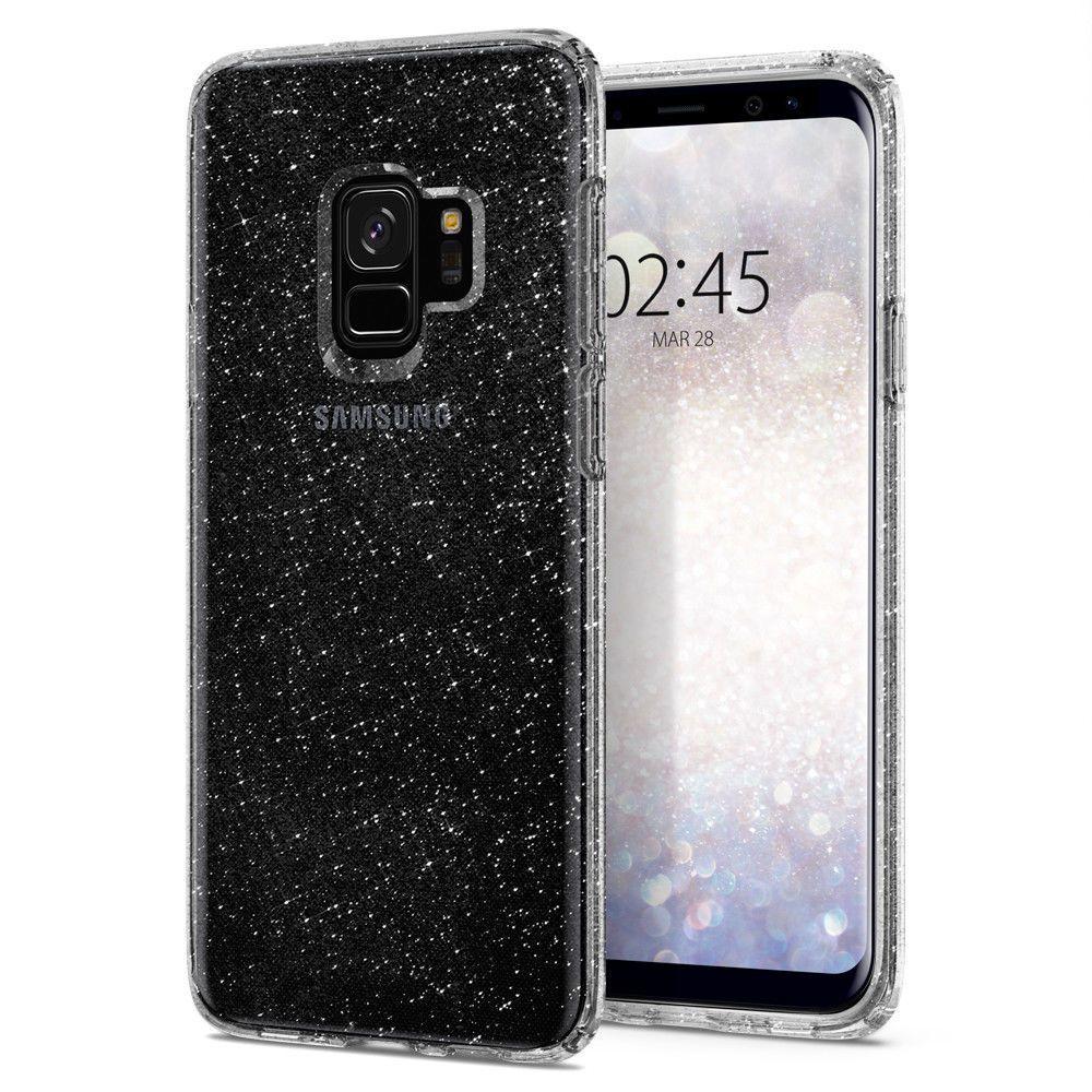 Galaxy S9 S9 Plus Spigen Liquid Crystal Glitter Slim Tpu Case Cover Galaxy Glitter Case Spigen
