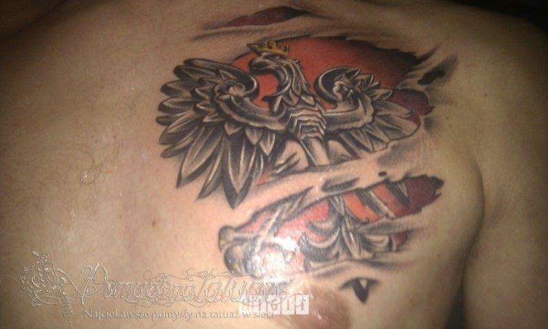 Godło Polski 3d Pomysł Na Tatuaż Pomysły Na Tatuaże Dla