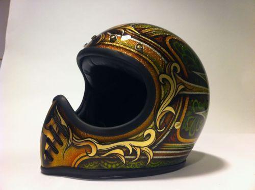 Kustom King Custom Paint Helmets Helmet Paint Vintage Helmet Custom Paint