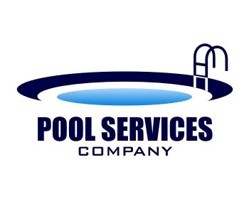 pool logo 760 pools logos service logo logo design