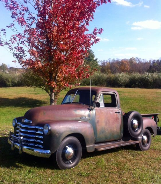1953 Chevy Pickup Truck All Original 49 50 51 52 Chevy Pickup