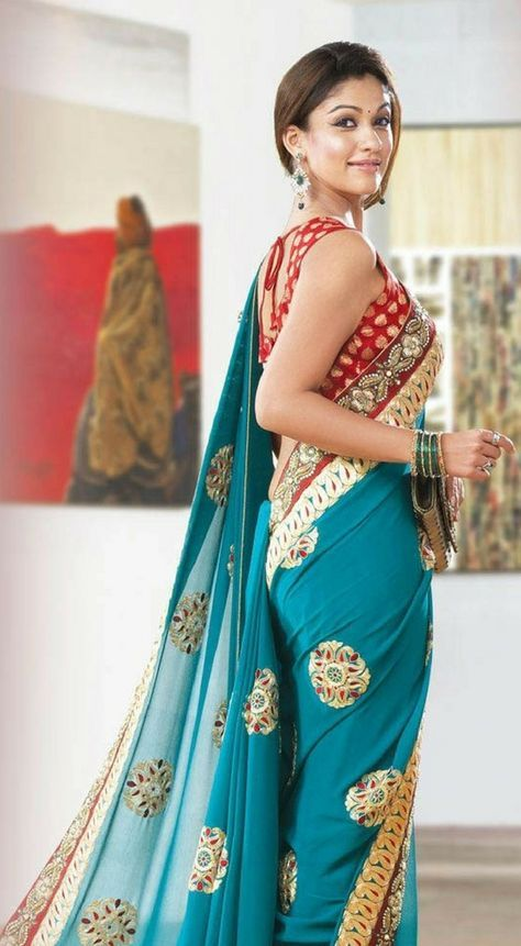 Amazing Pictures Of Nayanthara In Saree - Unseen Looks ...