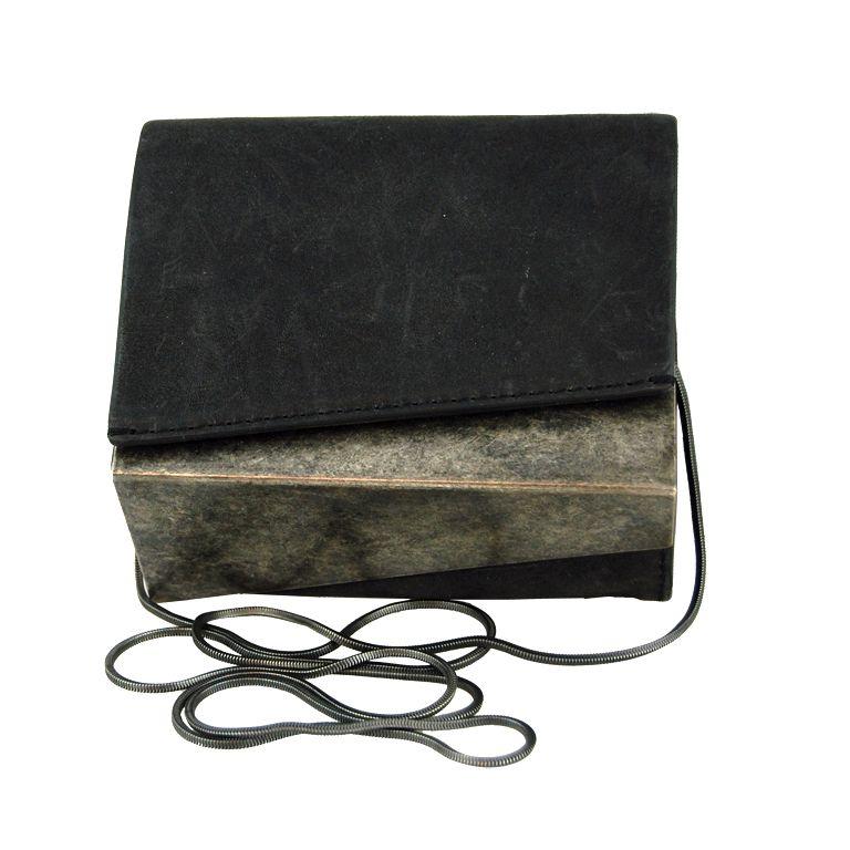 1stdibs   Helmut Lang Small Geometric Leather Bag