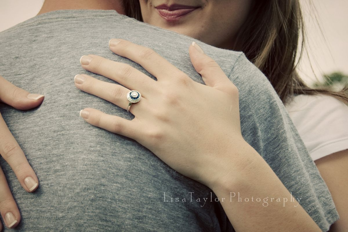 Engagement Ring And Embrace Engagement Alabama Weddings Engagement Rings