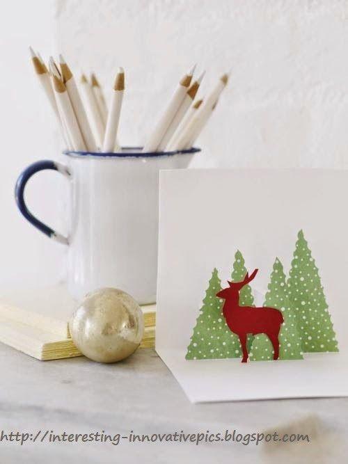 DIY christmas pop up greeting cards random Pinterest Pop up