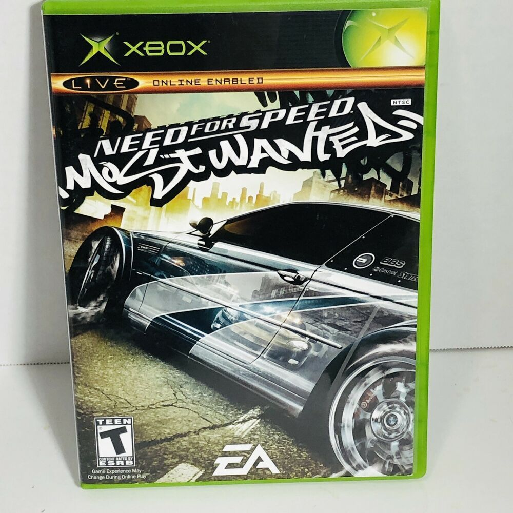 Microsoft Xbox Need for Speed Most Wanted VideoGame | eBay