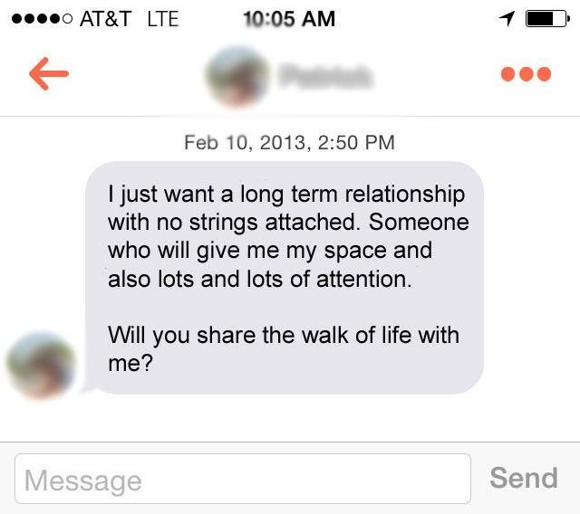 Pua first message online dating