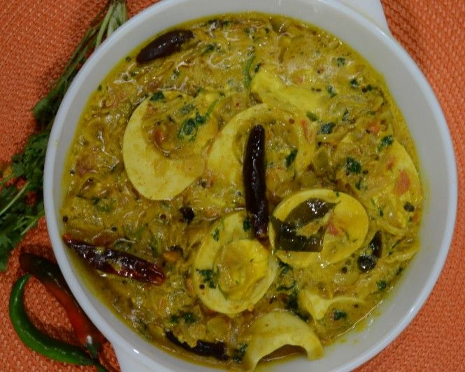 Egg curry with coconut milk india food pinterest egg curry egg curry with coconut milk forumfinder Choice Image