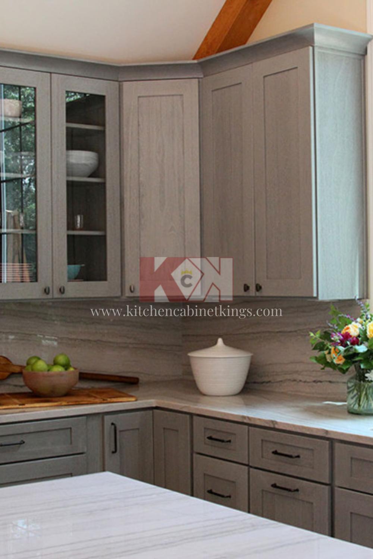 Nova Light Gray Full Overlay Cabinet Door Style Online Kitchen Cabinets Assembled Kitchen Cabinets Kitchen Cabinets