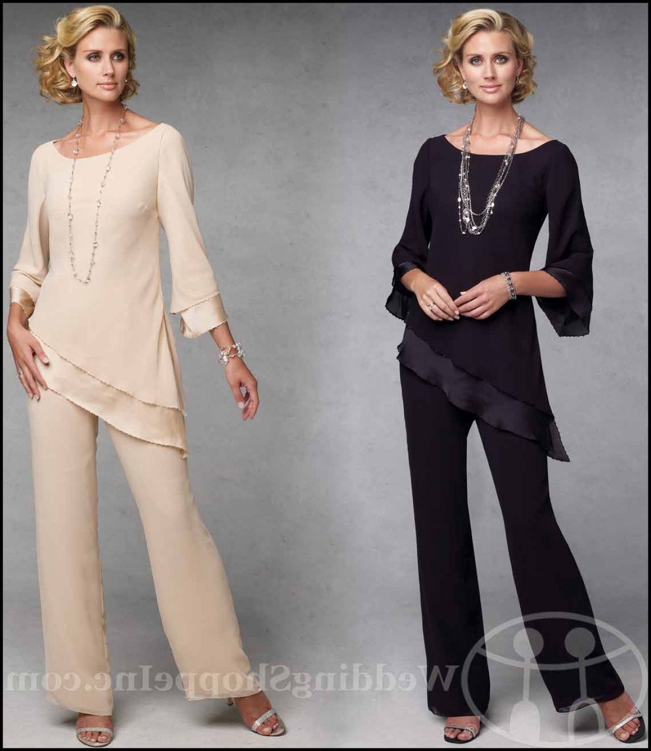 Dressy Pants Suits For Weddings: Mother Of The Bride Pant Suits Capri By Mon Cheri CP11133